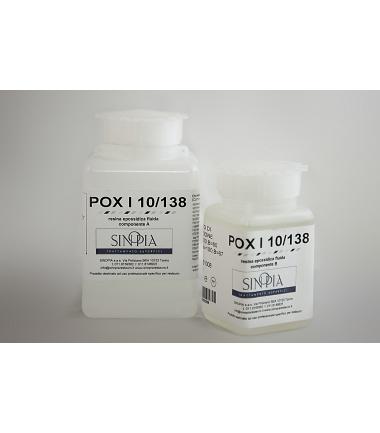 RESINA EPOSSIDICA POX I 10/138 (A+B 180 g+ 108 g) - conf. g 288