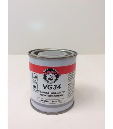 VERNICE ARGENTO PER INTERNI E ESTERNI VG 34- conf. 125 ml