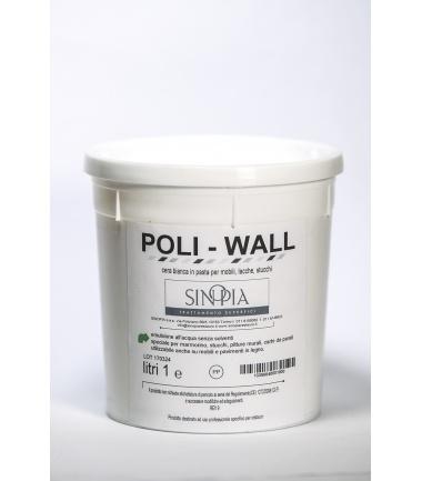 POLIWALL CERA ALL'ACQUA - conf. 1000 ml