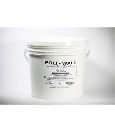 POLIWALL CERA ALL'ACQUA - conf. 5 litri