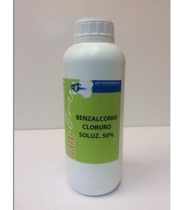 BENZALCONIO CLORURO SOLUZIONE 50% - conf. 1 l