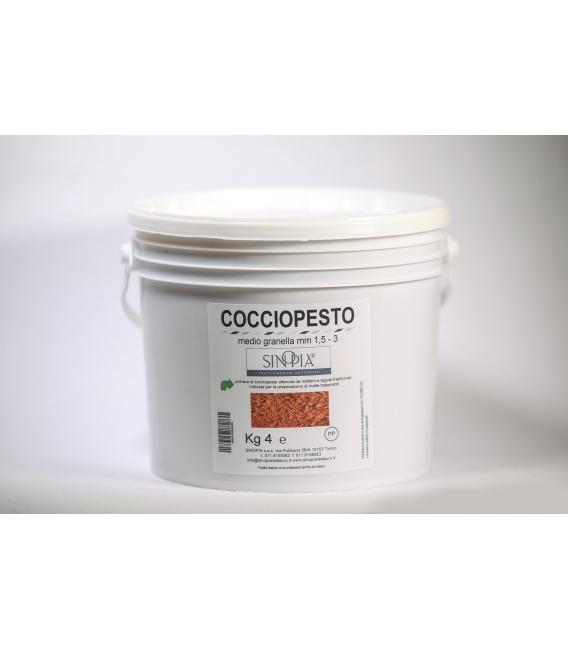 COCCIOPESTO MEDIO GRANELLA 1,5-3 mm - conf. 4 Kg