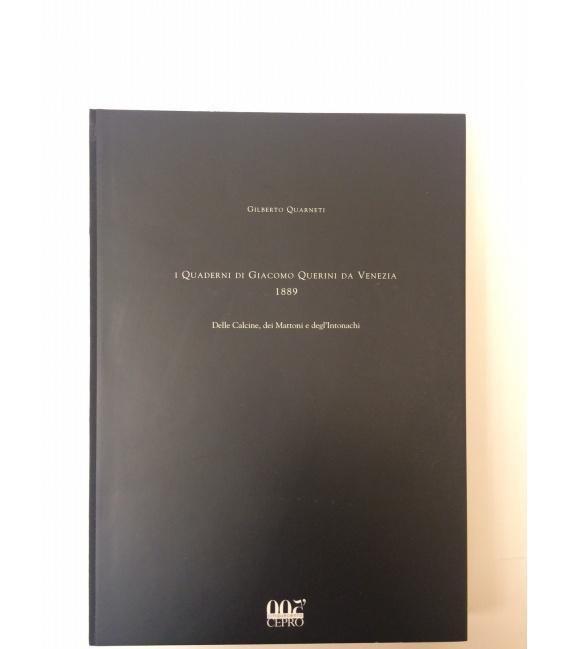 I QUADERNI DI GIACOMO QUERINI DA VENEZIA - 1889