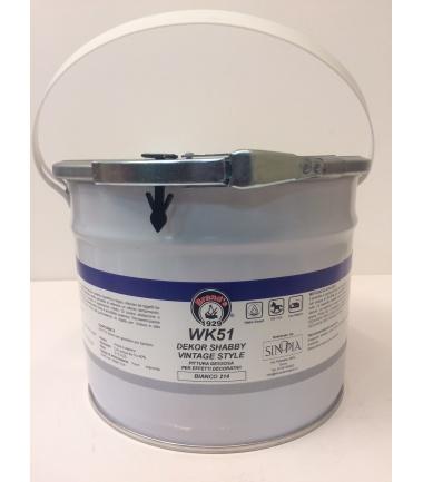 DEKOR SHABBY VINTAGE STYLE BIANCO 214 - conf. 2,5 litri