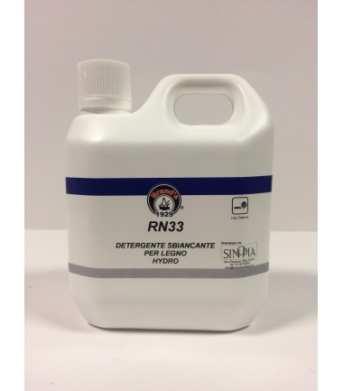 DETERGENTE SBIANCANTE PER LEGNO RN 33 - conf. 1 litro