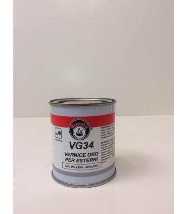 VERNICE ORO PER ESTERNI ORO PALLIDO VG 34 - conf. 125 ml