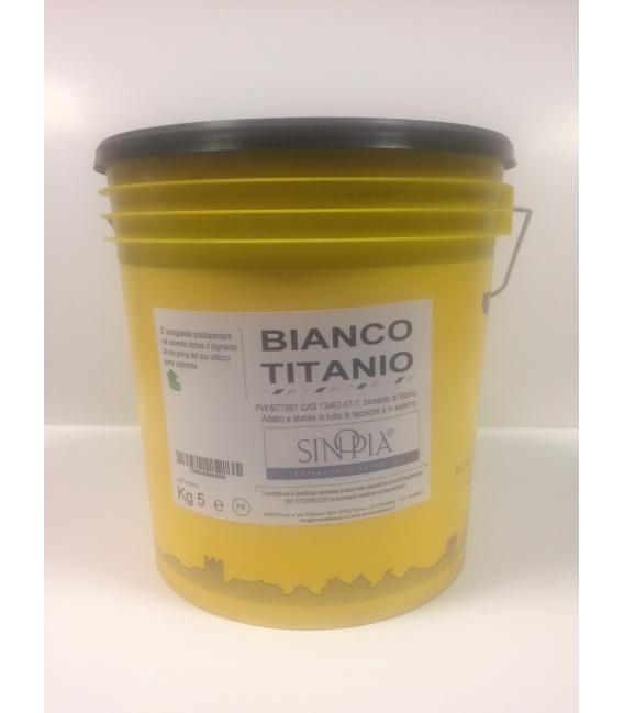 BIANCO TITANIO PURO - conf. 5 Kg