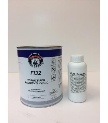 VERNICE PER PARQUET HYDRO OPACA 0/5 GLOSS FI 32 - conf. 1 litro