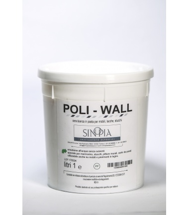 POLIWALL CERA ALL'ACQUA - conf. 1000 ml