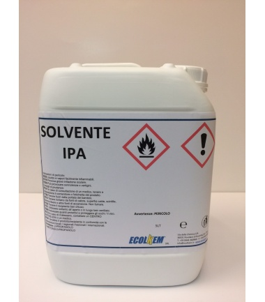 SOLVENTE IPA (ALCOOL ISOPROPILICO DEN.) - 5 litri