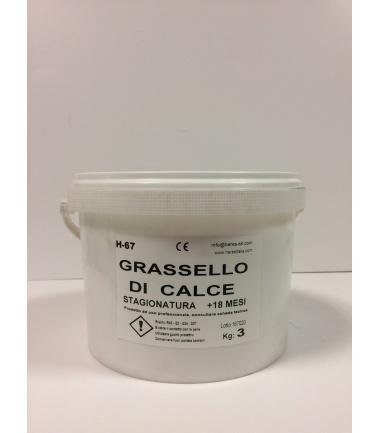 GRASSELLO STAGIONATO 18 mesi HERES - conf. 3 Kg