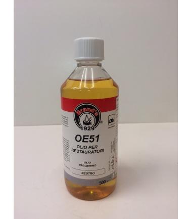 OLIO PAGLIERINO PER RESTAURO OE51 - conf. 500 ml