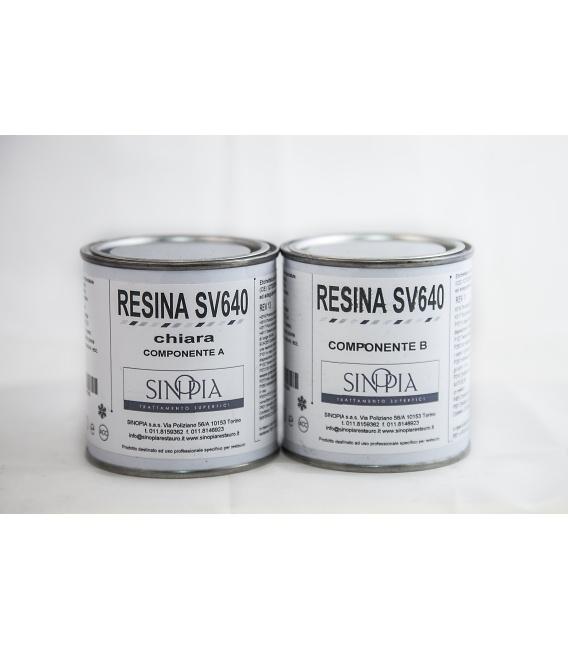 RESINA SV640 CHIARA (A+B 100+100 g) - conf. 200 g