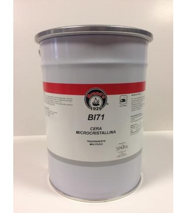 CERA MICROCRISTALLINA IN PASTA BI 71- conf. 5 litri