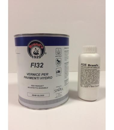VERNICE PER PARQUET HYDRO SATINATA 30/40 GLOSS FI 32- conf 1 litro