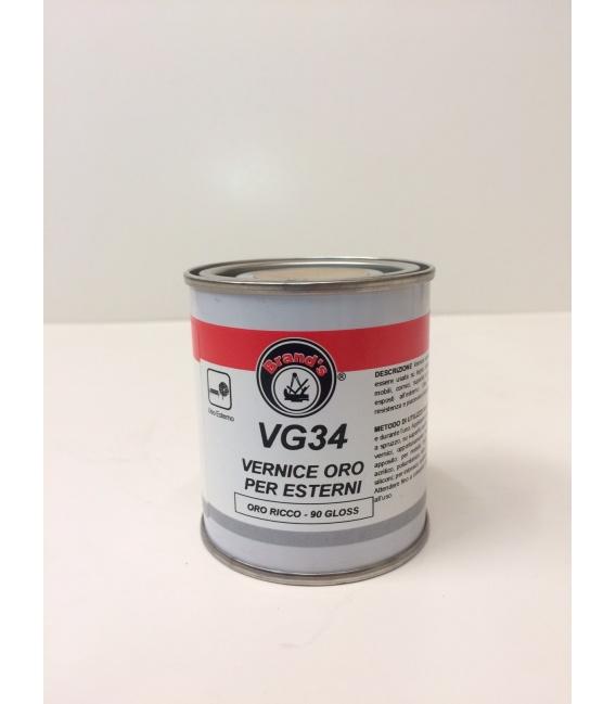 VERNICE ORO PER ESTERNI ORO RICCO VG 34 - conf. 125 ml