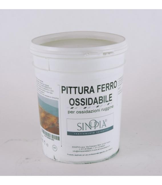 PITTURA FERRO OSSIDABILE - conf. 1 litro