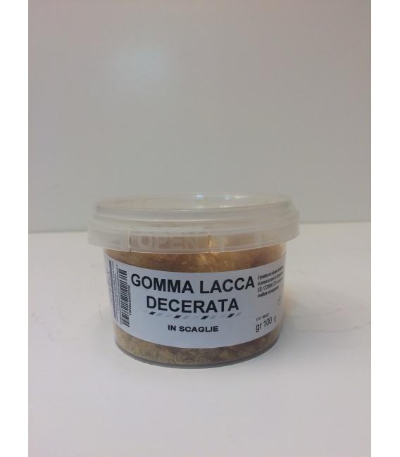 GOMMA LACCA DECERATA SCAGLIE - conf. 100 g