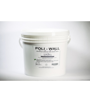 POLIWALL CERA ALL'ACQUA - 5 Litri