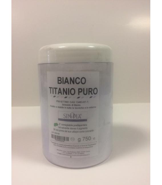 BIANCO TITANIO PURO - conf. 750 g