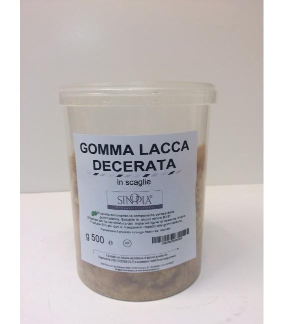 GOMMA LACCA DECERATA SCAGLIE - conf. 500 g