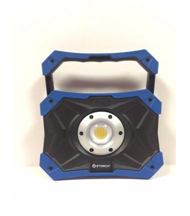 LAMPADA POWER LED A BATTERIA 15W CON BRACCETTO