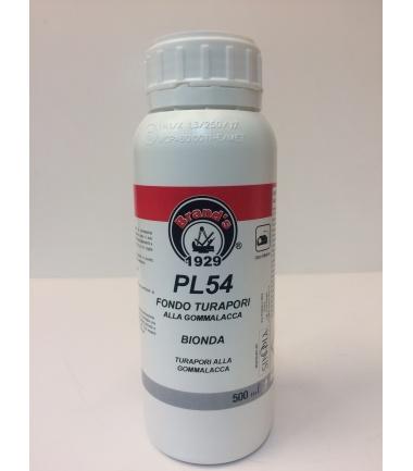 FONDO TURAPORI GOMMA LACCA BLOND PL54 - conf. 500 ml