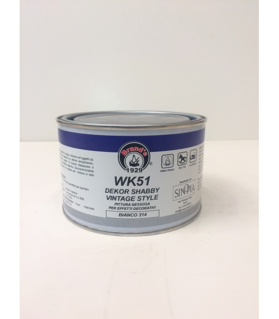 DEKOR SHABBY VINTAGE STYLE BIANCO WK51 214 - conf. 375 ml