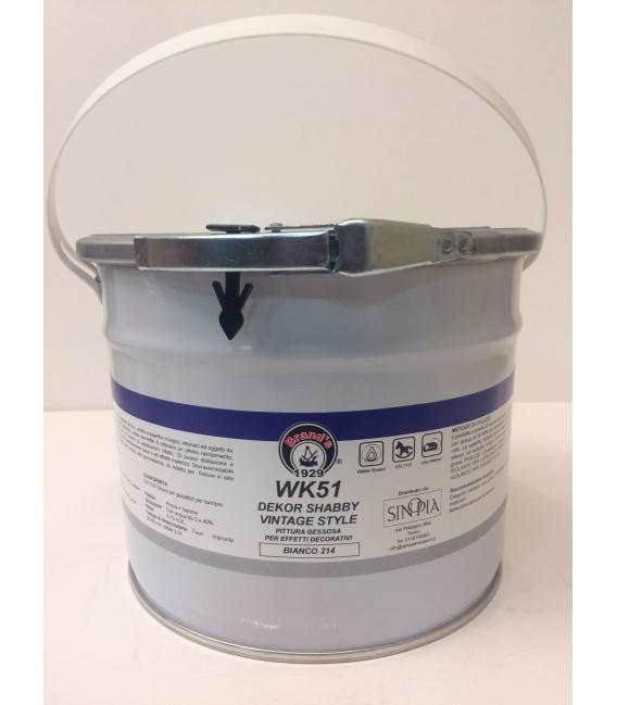 DEKOR SHABBY VINTAGE STYLE BIANCO WK51 214 - conf. 2,5 litri