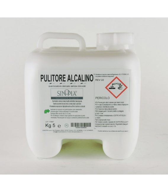 §§ PULITORE ALCALINO - conf. 5 Kg