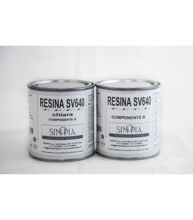 §§ RESINA SV640 CHIARA (A+B 100+100 g) - conf. 200 g