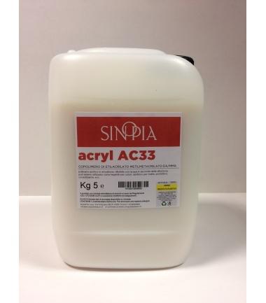ACRYL AC33 - conf. 5 Kg